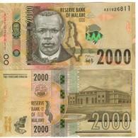 MALAWI  New Date  JUST ISSUED.   2'000 Kwacha   Dated 1st Jan. 2018  UNC  (P69b) - Malawi
