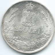 Romania - Michael I - 1941 - 250 Lei - K59.3 - Edge: Nihil Sine Deo - Roumanie