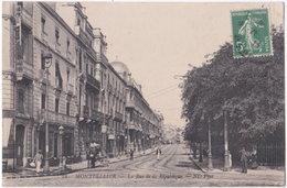 34. MONTPELLIER. La Rue De La République. 88 - Montpellier