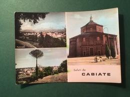 Cartolina Saluti Da Cabiate - Chiesa Nuova - Panorama - 1965 - Como