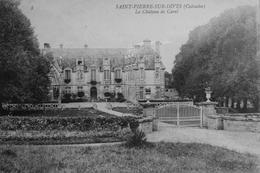 Saint Pierre Sur Dives : Le Chateau De Carel - France