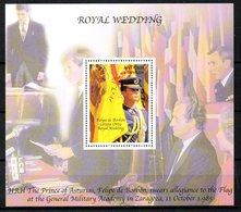 ANTIGUA. BF 587 De 2004. Mariage Royal Espagnol. - Royalties, Royals