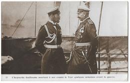 L'Empereur Guillaume II Et Le Tzar Nicolas II - Characters