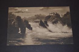 Carte Postale 1909 Suisse Rheinfall - Switzerland
