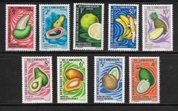 CAMEROUN  ( AFCA - 113 )  1967  N° YVERT ET TELLIER   N° 441/449   N** - Cameroun (1960-...)