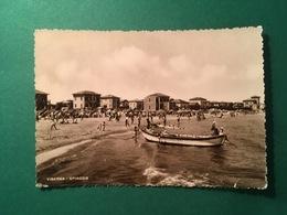 Cartolina Saluti Da Viserba - Spiaggia - 1950 - Rimini