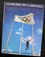Olympijské Hry V Obrazech / Olympic Games In Pictures Album 1980 - Bücher, Zeitschriften, Comics