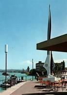 CPM - BASEL - Vue De La Ville ... Port Du Rhin De Petit-Huningue - BS Basle-Town