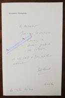L.A.S 1960 Emile HENRIOT Académie Française - à François La Vaissière - Poète Académicien Lettre Autographe LAS - Autographes