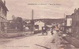 01 - AMBERIEU -en- BUGEY - Rue De Croze - France