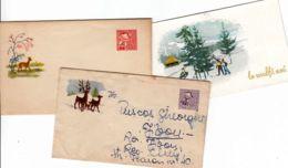 ROUMANIE - Lot De 2 Entiers Postaux + 1 Carte - 1948-.... Républiques