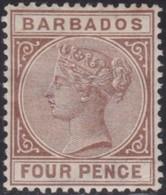 Barbados  .   SG  .   98     .   *     .    Mint-hinged     .   /    .   Ongebruikt - Barbados (...-1966)