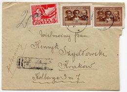 Poland Registered Kielce Krakow 1949 - 1944-.... Republic