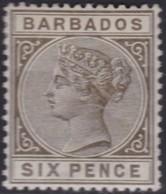 Barbados  .   SG  .  100       .   *     .    Mint-hinged     .   /    .   Ongebruikt - Barbados (...-1966)