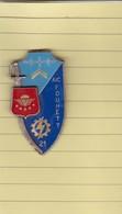 (T 4) Pucelle, Epinglette Et Breloque à Identifier En Métal (sans Support) - Militari