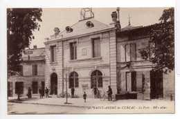 - CPA SAINT-ANDRE-DE-CUBZAC (33) - La Poste (avec Personnages) - Edition BR 2820 - - Francia