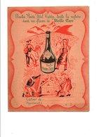 PROTEGE-CAHIER LIQUEUR VIEILLE CURE ET CORDIAL -MEDOC - Book Covers