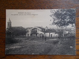 """BOUGEY.CPA.70.""""vue Générale Prise Du Vieux Chemin D'Augicourt"""".animée. - Frankreich"""
