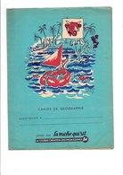 PROTEGE-CAHIER FROMAGE BEL - LA VACHE QUI RIT - DESSINS HERVE BAUCE - Book Covers