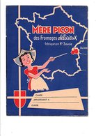 PROTEGE-CAHIER FROMAGES MERE PICON - Book Covers
