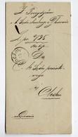 Poland Ukraine Zloczow Ozydow Wafer 1879 - ....-1919 Übergangsregierung
