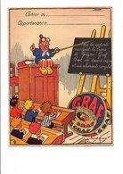 PROTEGE-CAHIER CREME DE GRUYERE GRAF - DESSINS DE JOE BRIDGE - Book Covers