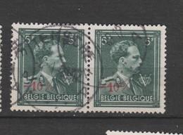 COB 724T En Paire Oblitération Centrale TEMSCHE - 1946 -10%