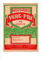 PROTEGE-CAHIER MOUTARDE DE PARIS VERT-PRé - Book Covers
