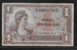 Etats Unis - Military Payment Certificate - 1 Dollar  - Pick N° M33 - TB - Military Payment Certificates (1946-1973)