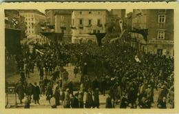 CROATIA - FIUME /  RIJEKA - GRANDE CORTEO CITTADINO E MILITARE - 4 NOVEMBRE 1920 - EDIT F. SLOCOVICH ( BG3209) - Kroatien