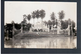 MALAYSIA  Kuala Lumpur Malay Mosque Ca 1930 OLD PHOTO POSTCARD - Malaysia