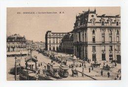 - CPA BORDEAUX (33) - La Gare Saint-Jean (belle Animation) - Photo Marcel Delboy 334 - - Bordeaux