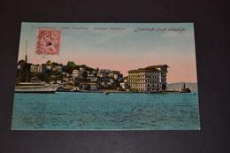 Carte Postale 1911 Constantinople Hôtel Tokatlian Thérapia Bosphore - Türkei