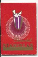 PETIT CALENDRIER ALMANACH - 1935 - CHOCOLATS STANISLAS - NANCY - Tamaño Pequeño : 1921-40