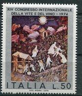 Italia (1974) - Congresso Della Vite E Del Vino ** - 6. 1946-.. Republik