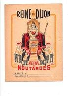 PROTEGE-CAHIER MOUTARDE REINE DE DIJON - DESSIN D'APRES MARCEL GAGLIO - Book Covers