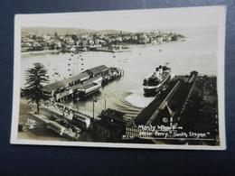 19925) SIDNEY MANLY WARF NEW FERRY SOUTH STEYNE NON VIAGGIATA - Sydney