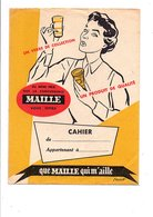 PROTEGE-CAHIER MOUTARDE MAILLE - DESSIN DE CHESNOT - Book Covers