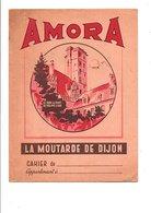 PROTEGE-CAHIER MOUTARDE DE DIJON AMORA - Book Covers