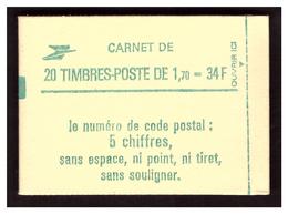 Liberté De DELACROIX Carnet N° 2318 C1 - Markenheftchen