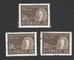 Schweden, 1963, Michel-Nr. 508 Dl+Dr, Gestempelt - Gebraucht