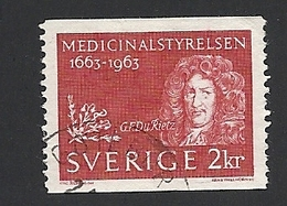 Schweden, 1963, Michel-Nr. 510, Gestempelt - Usati