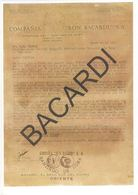 Bacardi Letter 1956,original,from Boss José Bosch(Pepín) To COCA COLA, Mr.Thomas - Documenti Storici