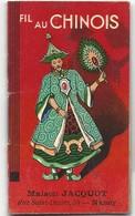 PETIT CALENDRIER ALMANACH - 1936 - AU FIL CHINOIS - MAISON JACQUOT - NANCY - Kalender