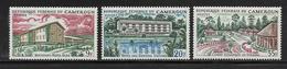 CAMEROUN  ( AFCA - 149 )  1966  N° YVERT ET TELLIER   N° 417/419   N** - Camerun (1960-...)