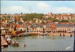 Dieppe - Le Port Et Le Quai Duquesne Et Le Château . - Dieppe