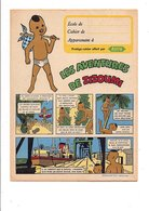PROTEGE-CAHIER MARGARINE ASTRA - LES AVENTURES DE ZIZOUMI - Book Covers
