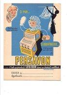 PROTEGE-CAHIER PERSAVON - DESSIN DE LEVOIR - Book Covers