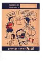 PROTEGE-CAHIER LESSIVE PERSIL - DESSIN DE JEAN BELLUS - Book Covers