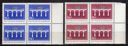 Germany 1984 EUROPA Stamps - Bridges - The 25th Anniversary Of C.E.P.T.. 4 X Stamps. MNH - [7] République Fédérale